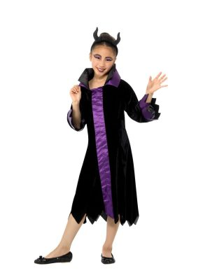 Evil Queen Children's Fancy Dress Costume
