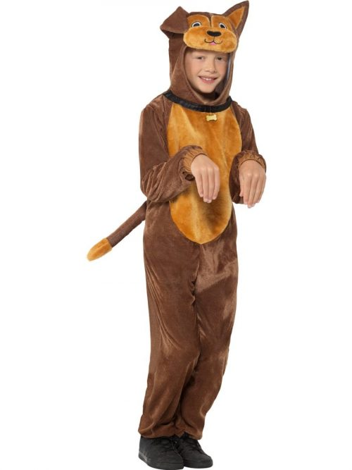 Brown Dog Children's Unisex Fancy Dress Costume