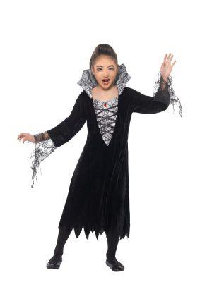Spider Vampire Children's Fancy Dress Costume