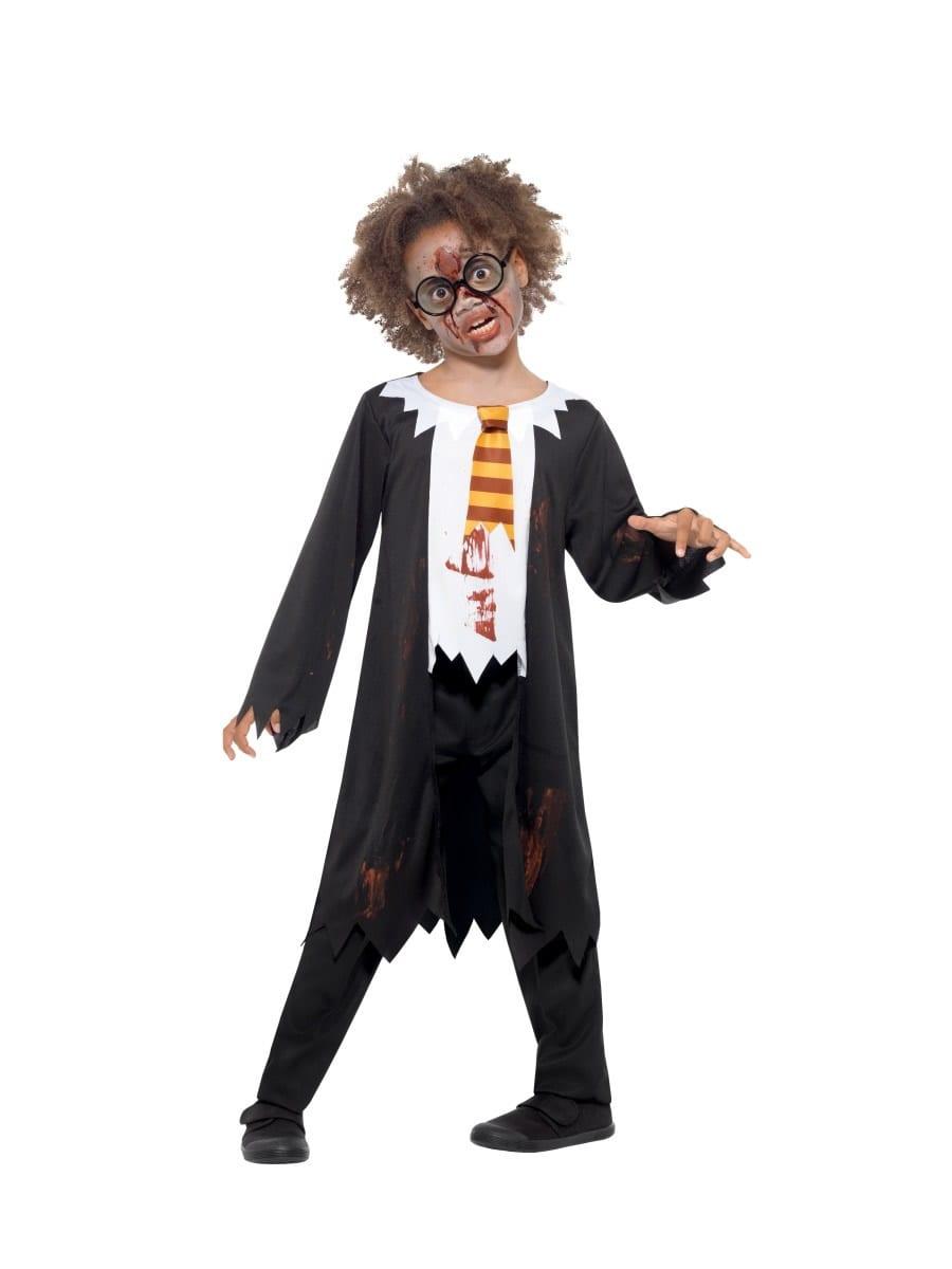 Zombie Student Children's Halloween Fancy Dress Costume