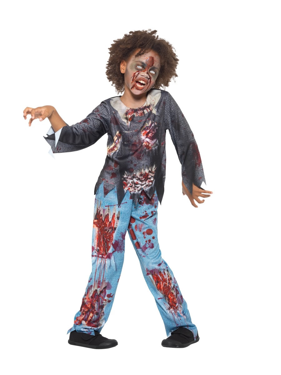 Zombie Child Children's Halloween Fancy Dress Costume