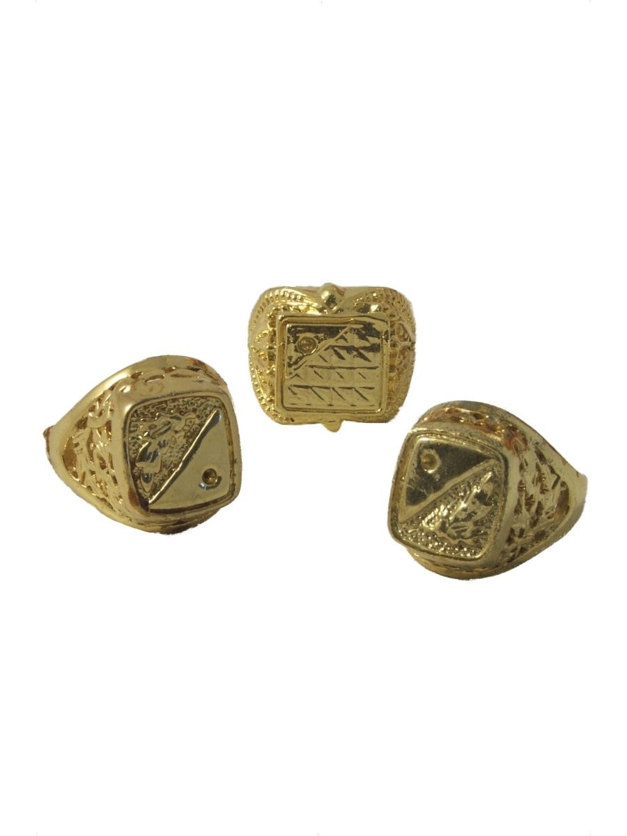 Assorted Rings Gold