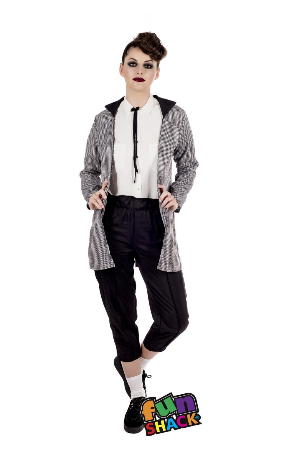Teddy Girl Ladies Fancy Dress Costume