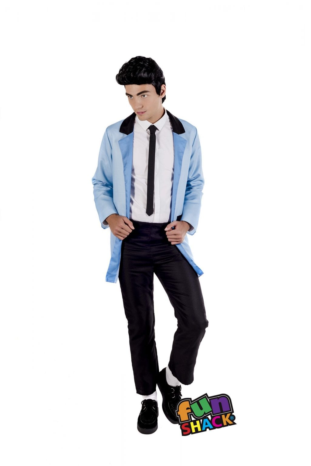 Teddy Boy Men's Fancy Dress Costume