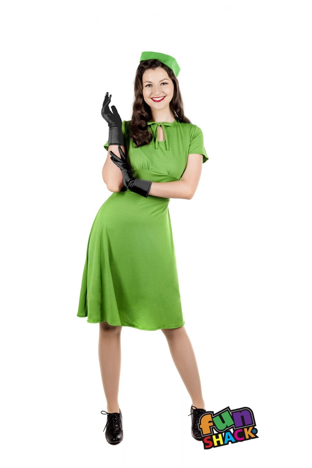 40's Dress Ladies Fancy Dress Costume