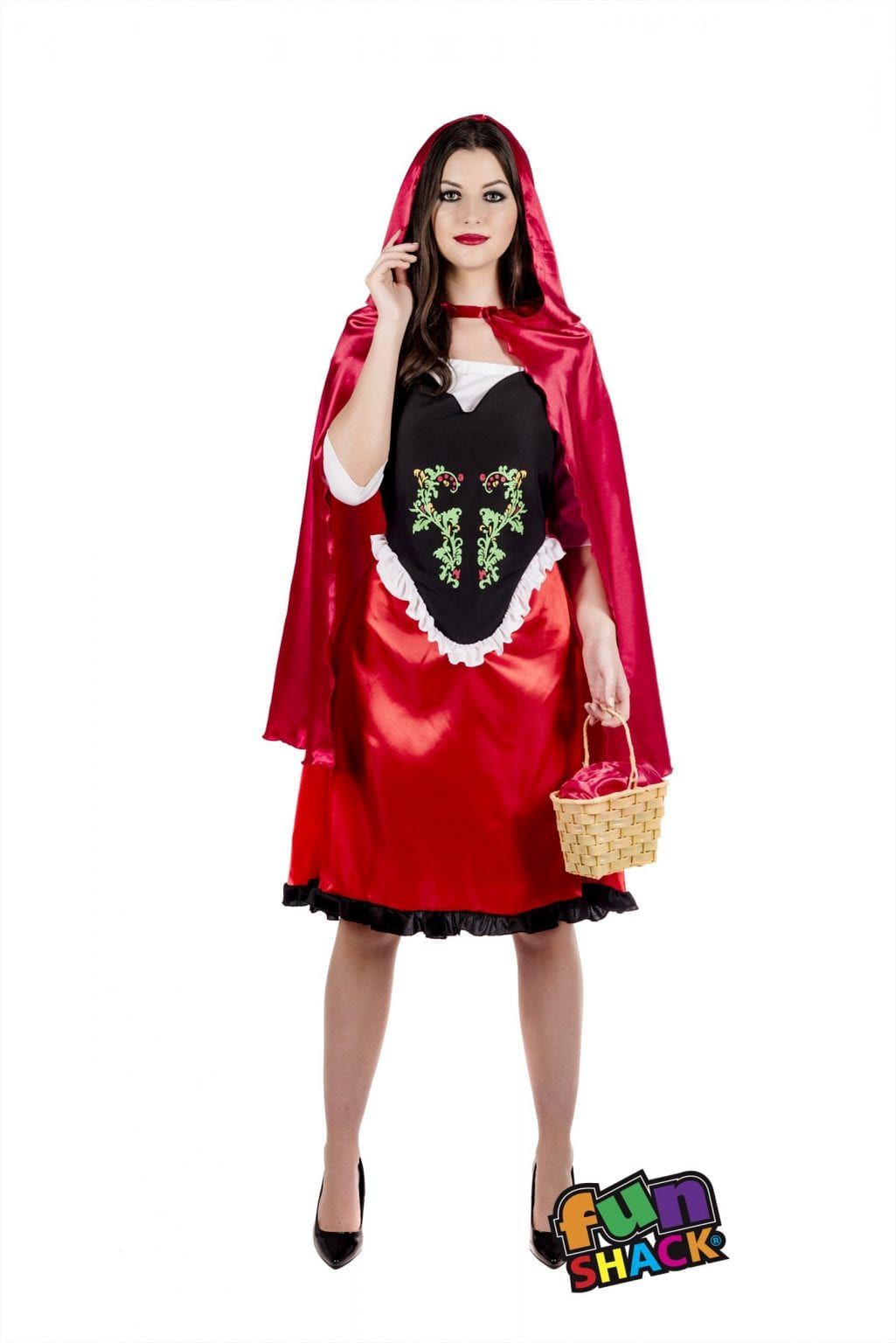 Red Riding Hood Ladies Fancy Dress Costume
