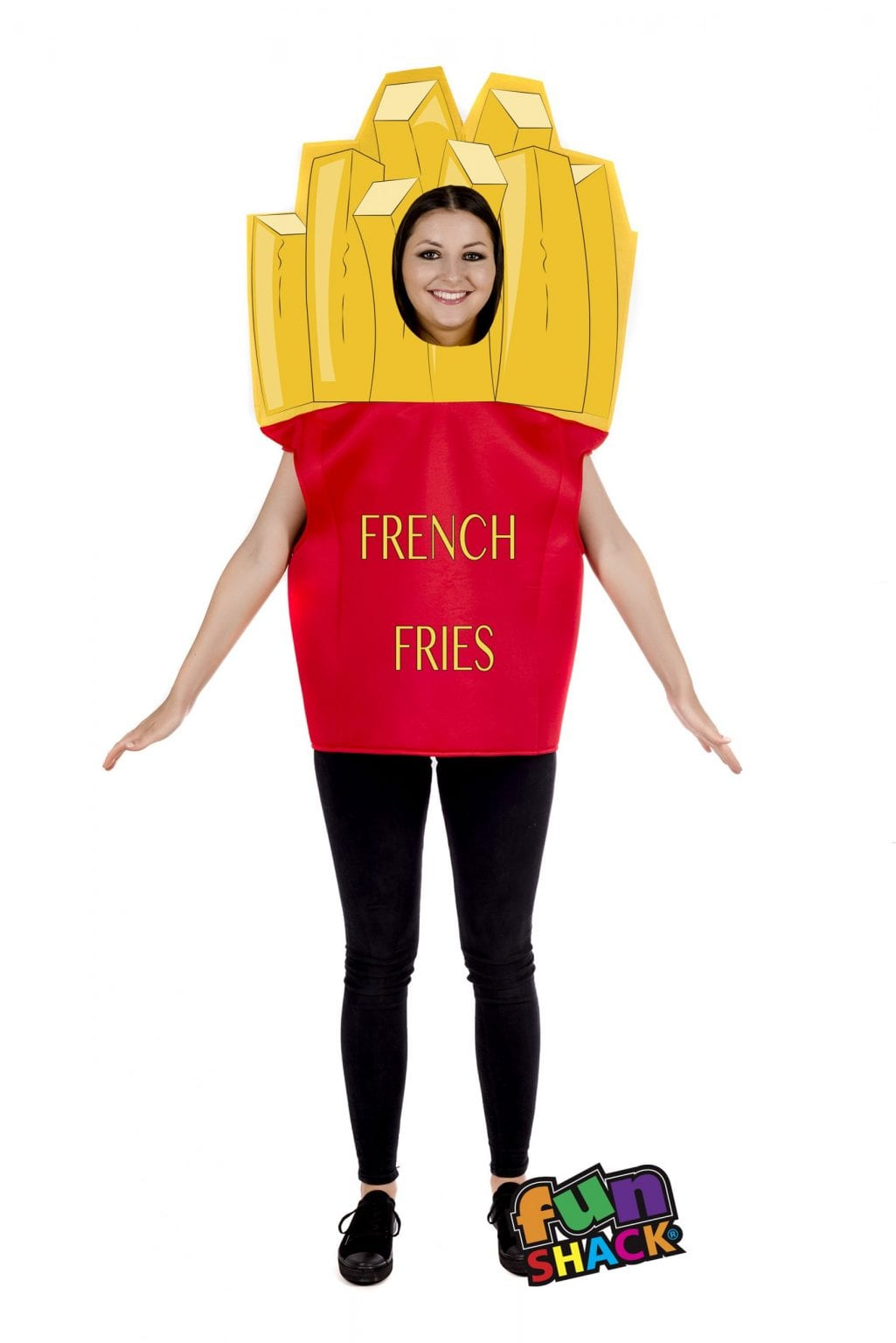 Fries Novelty Unisex Fancy Dress Costume