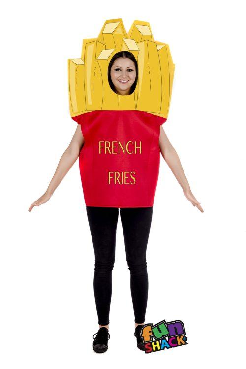 Fries Novelty Unisex Fancy Dress Costume