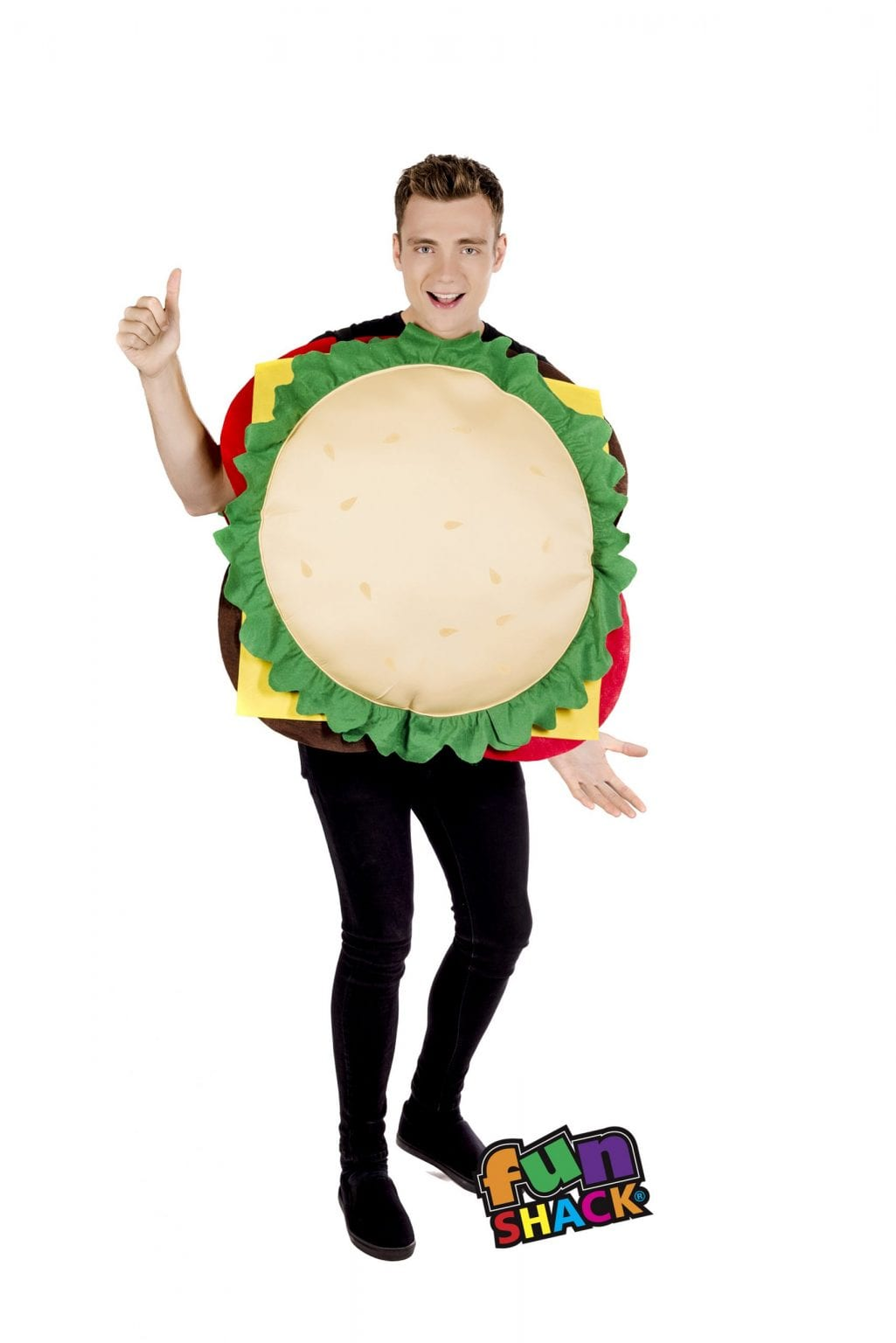 Cheeseburger Novelty Unisex Fancy Dress Costume