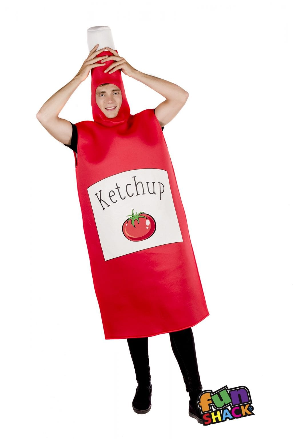 Ketchup Novelty Unisex Fancy Dress Costume