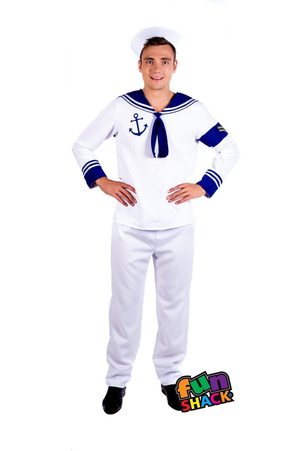 Sailor Men's Fancy Dress Costume