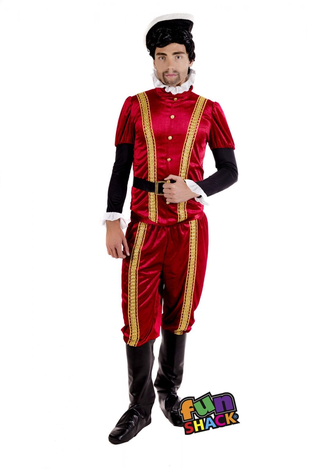 Tudor Earl Men's Fancy Dress Costume