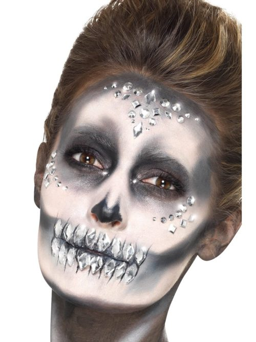 Jewel Face Gems Silver