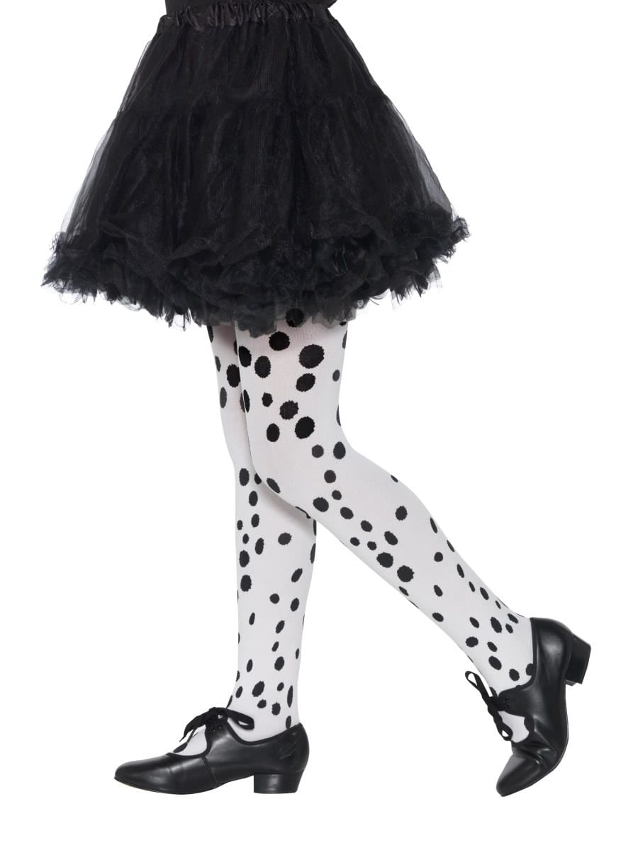 Dalmatian Tights, Childs AGE 6-12 YEARS