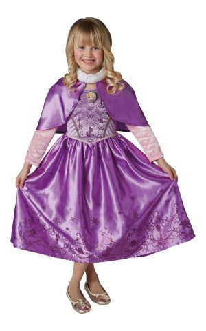 Disney Princess Winter Rapunzel Children's Fancy Dress Costume