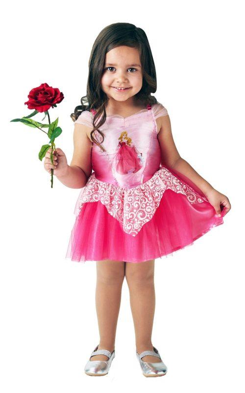 Disney Princess Ballerina Sleeping Beauty (Aurora) Children's Fancy Dress Costume