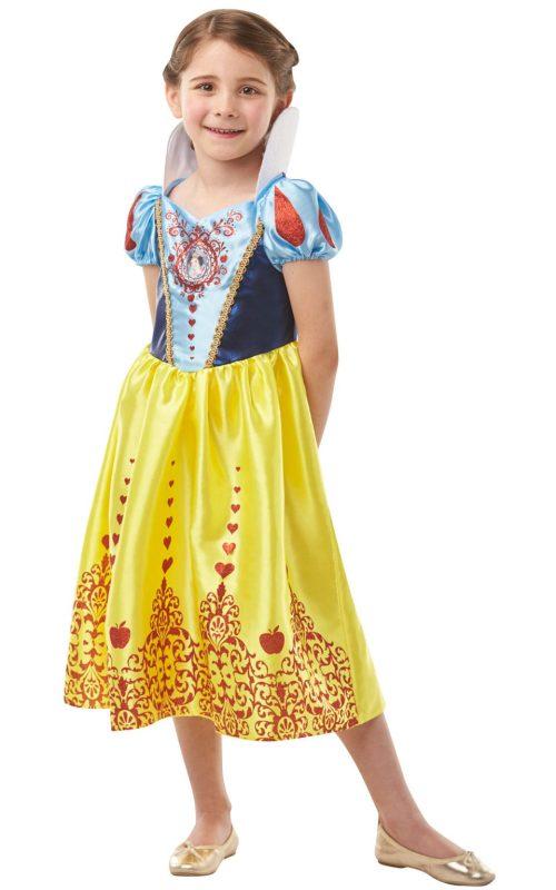 Disney Princess Gem Princess Snow White Children's Fancy Dress Costume