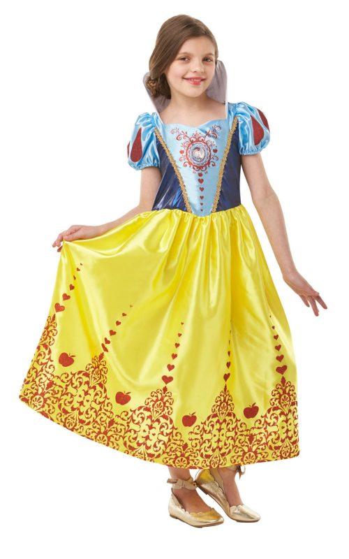 Disney Princess Gem Princess Snow White Tween Children's Fancy Dress Costume