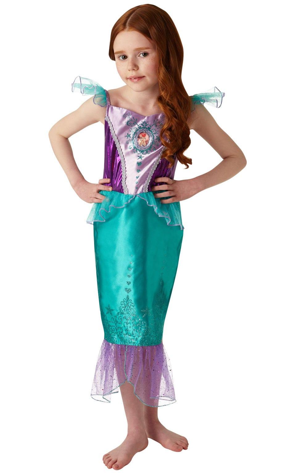 Disney Princess Gem Princess Ariel Children's Fancy Dress Costume
