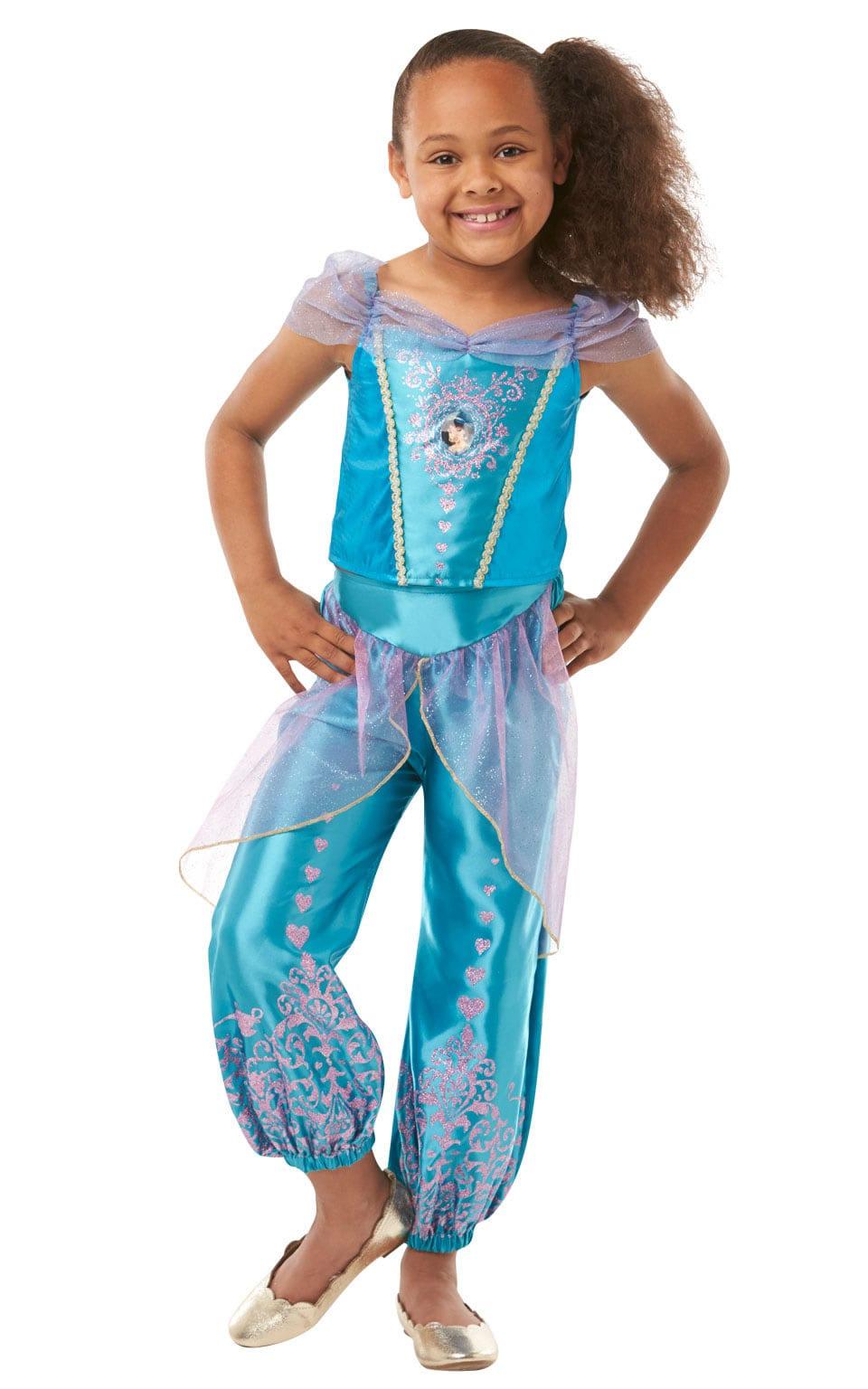 Disney Princess Gem Princess Jasmine Children's Fancy Dress Costume