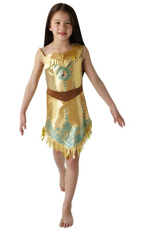 Disney Princess Gem Princess Pocahontas Children's Fancy Dress Costume