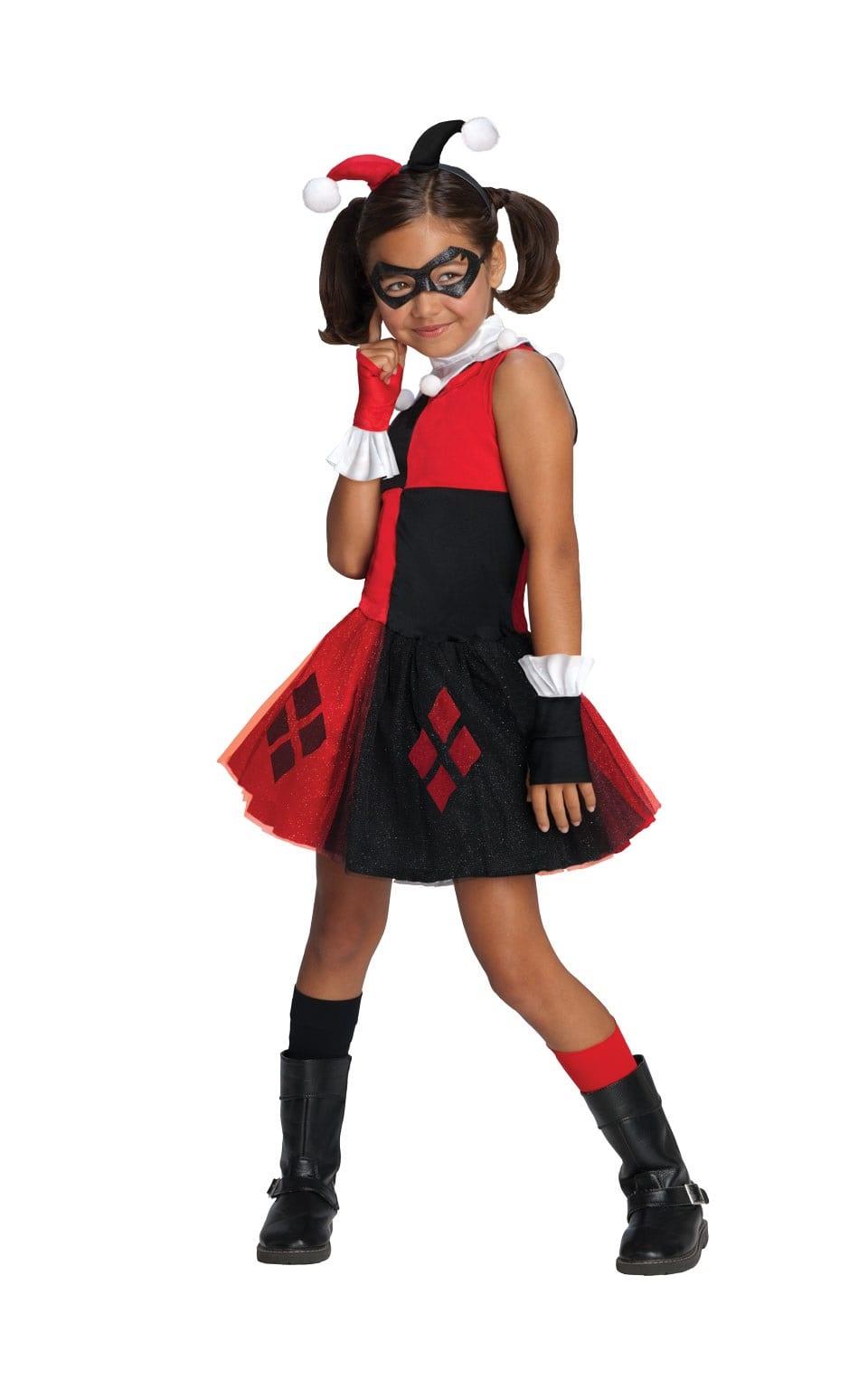 Batman's Harley Quinn Tutu Children's Fancy Dress Costume