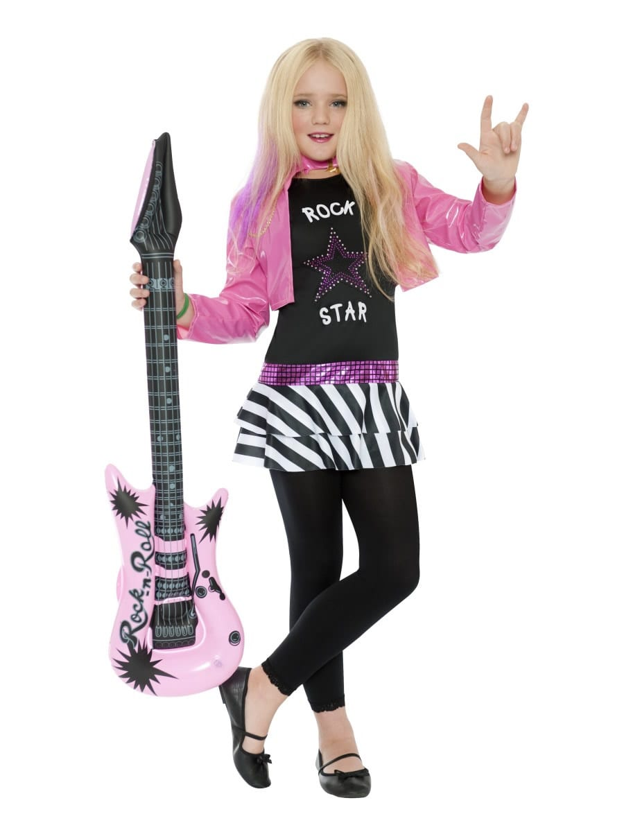 Rockstar Glam Children's Fancy Dress Costume