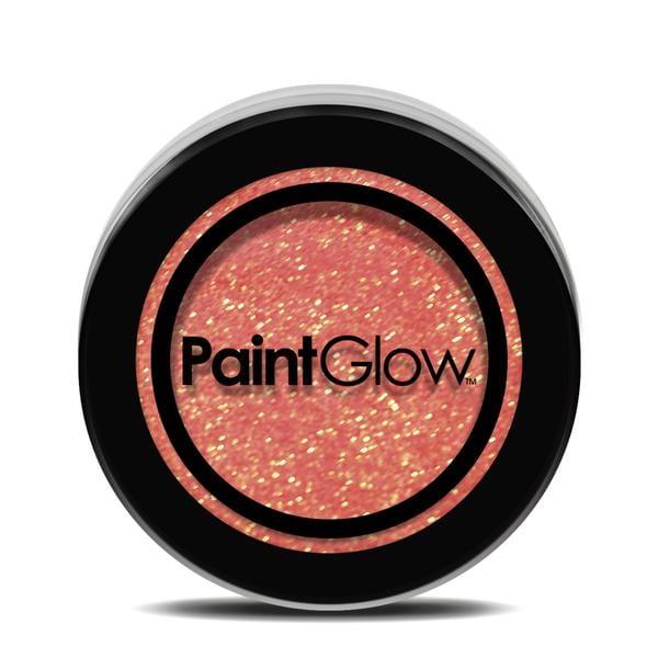 PaintGlow UV Glitter Shaker 4g Peach Paradise