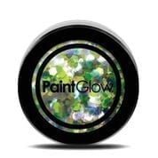 PaintGlow Chunky Holographic UC Cosmetic Glitter 5g Lucky Lepricorn