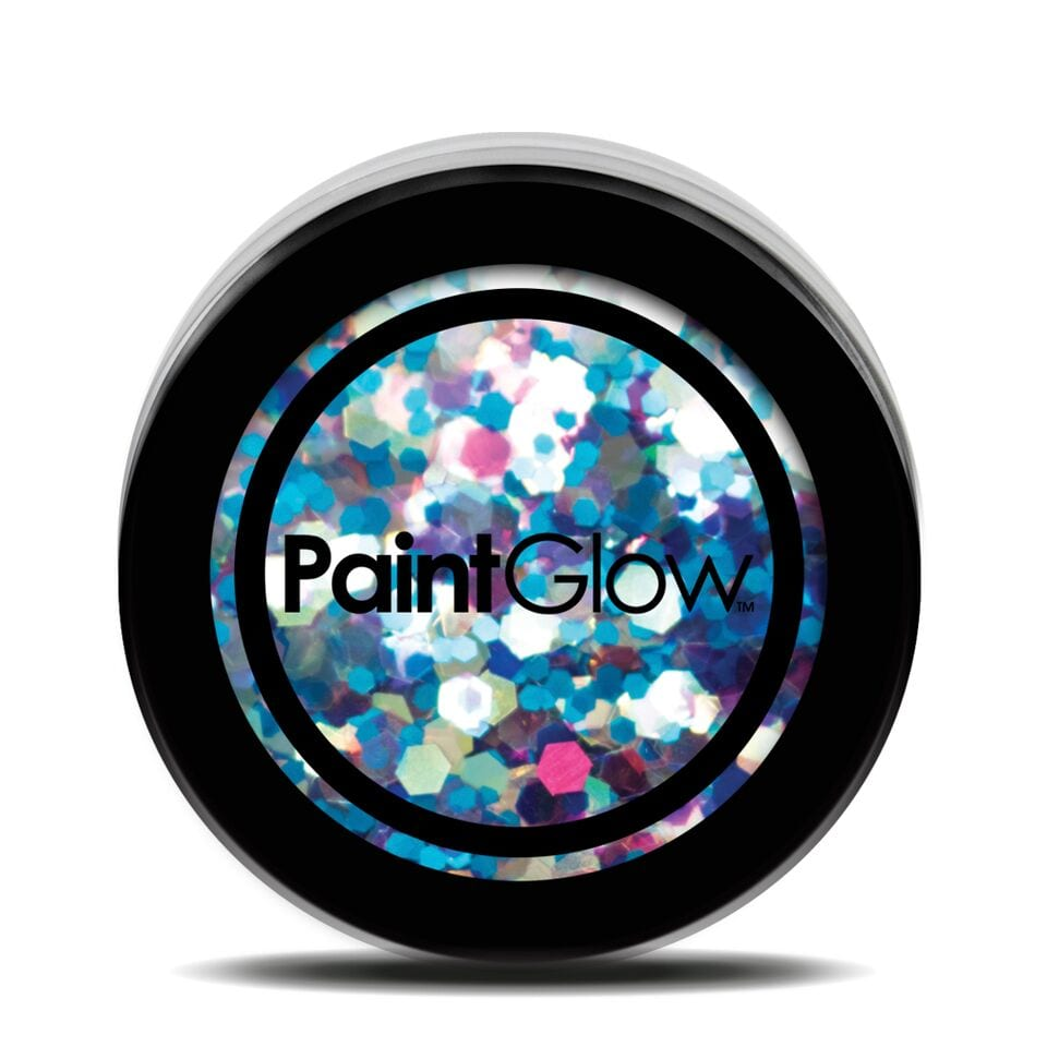 PaintGlow Chunky Holographic UV Cosmetic Glitter 5g Mermaid Mist