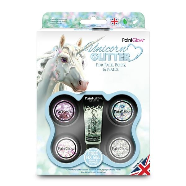 Unicorn Chunky Cosmetic Glitter Boxset