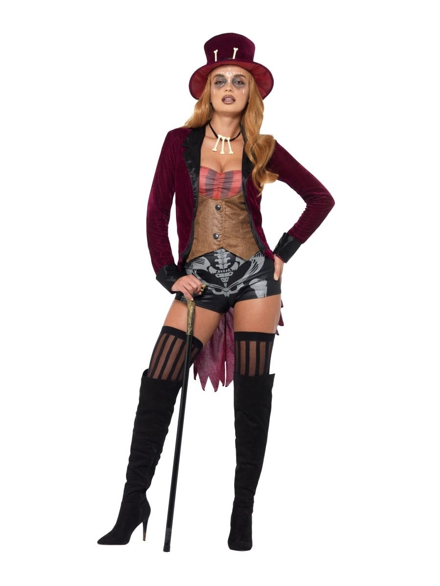 Fever Collection Voodoo Ladies Halloween Fancy Costume