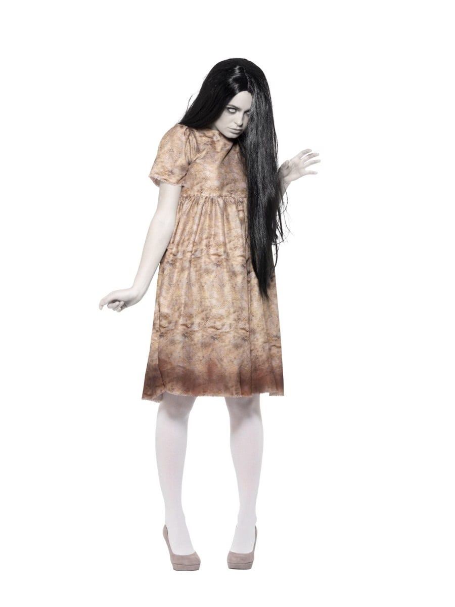 Evil Spirit Ladies Halloween Fancy Dress Costume
