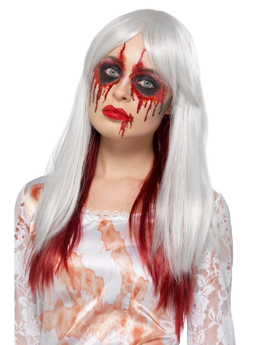 Deluxe Blood Drip Ombre Wig