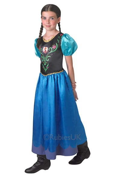 Disney's Frozen Anna Tween Children's Fancy Dress Costume