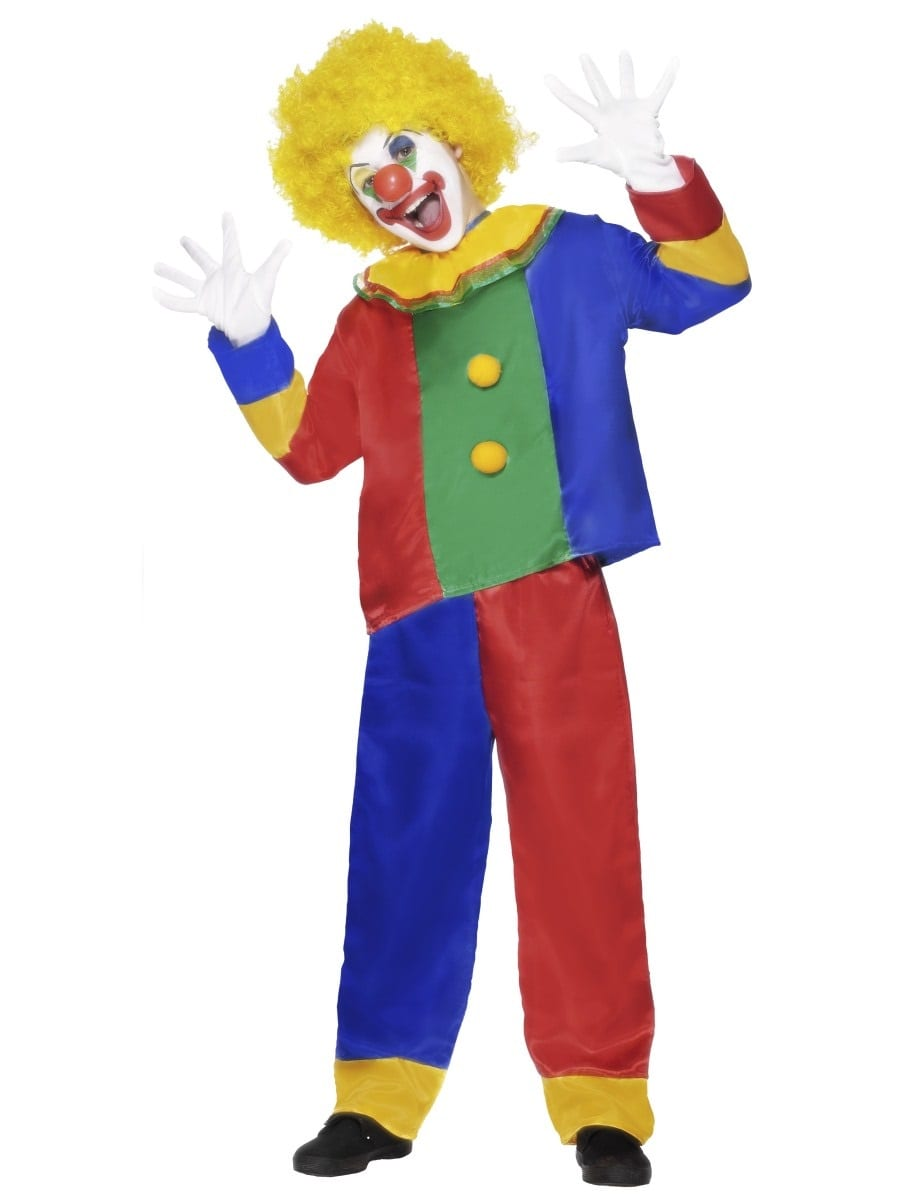 Clown Unisex Children's Fancy Dress Costume