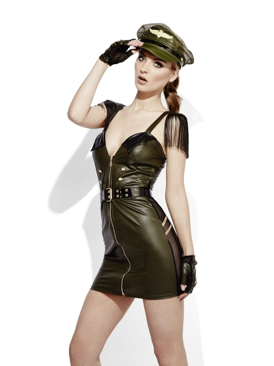 Fever Role-Play Military Chief Ladies Lingerie Fancy Dress Costume
