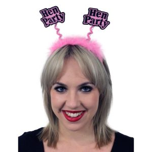 Hen Party Pink Bopper on Headband