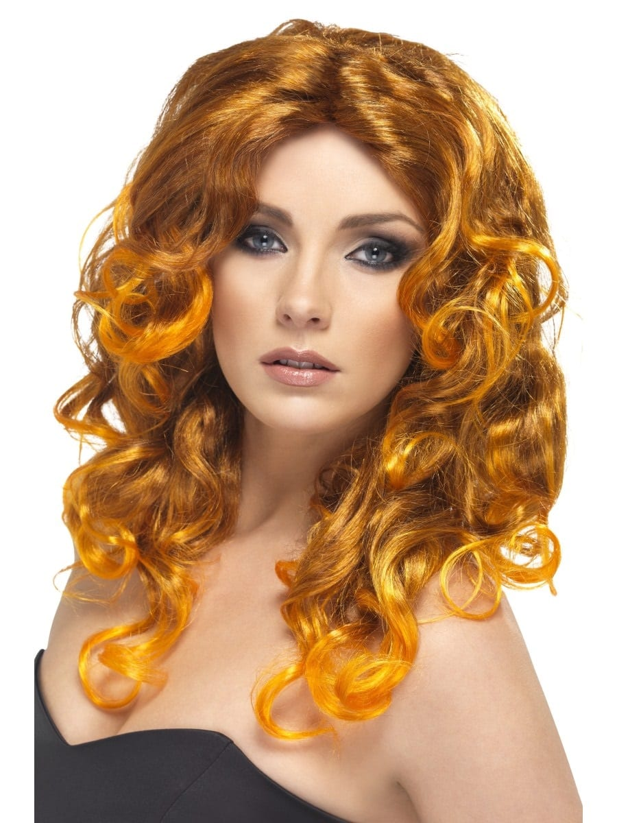 Glamour Wig Light Auburn