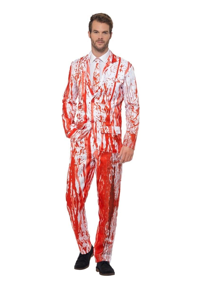 Blood Drip Standout Suit Men's Halloween Fancy Dress Costume