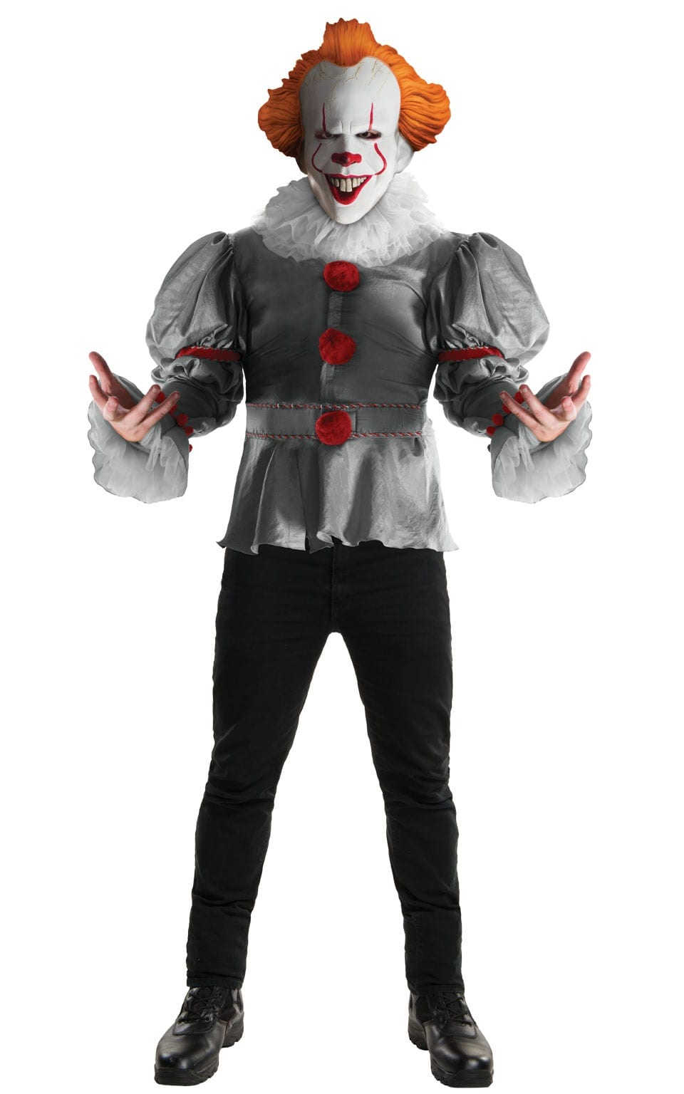 IT Pennywise Deluxe Men's Fancy Dress Costume