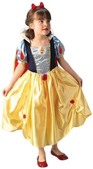 Disney's Snow White Platinum Children's Fancy Dress Costume