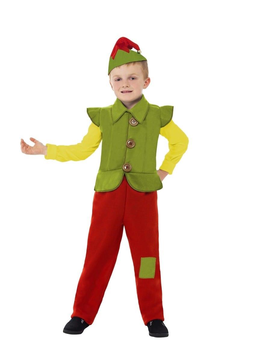 Elf Boy Children's Christmas Fancy Dress Costume