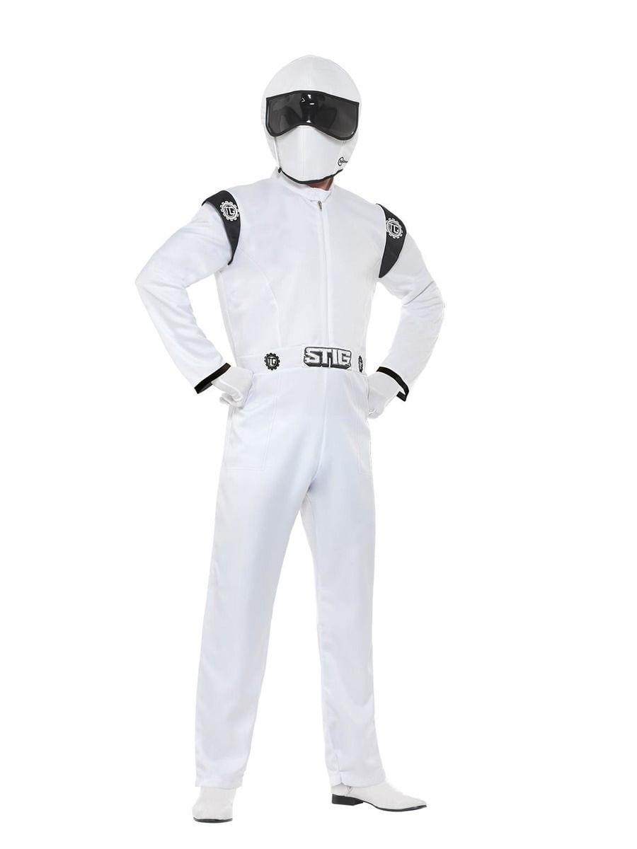 Top Gear,The Stig Men's Fancy Dress Costume