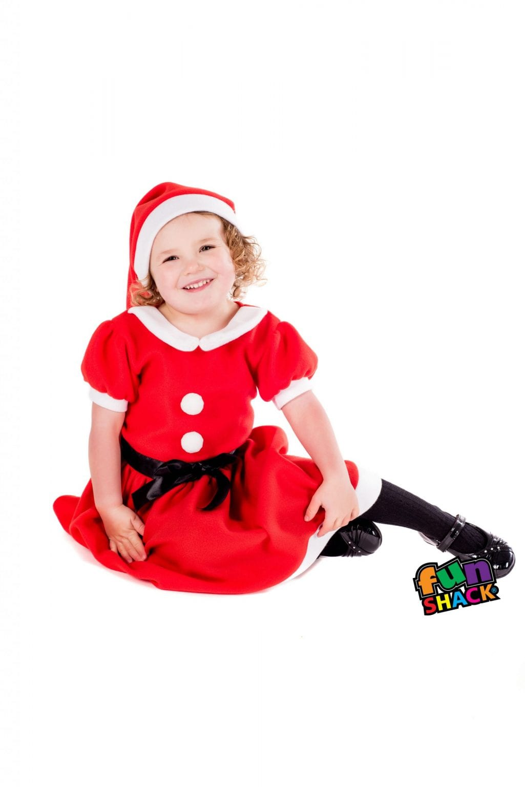 Christmas Toddler Dress Children's Christmas Fancy Dress Costume-0