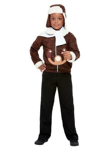 WW1 Pilot Children's Fancy Dress Costume