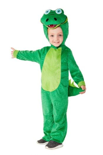 Toddler Crocodile Unisex Children's Fancy Dress Costume