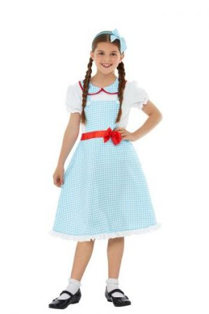 Country Girl Children's Fancy Dress Costume