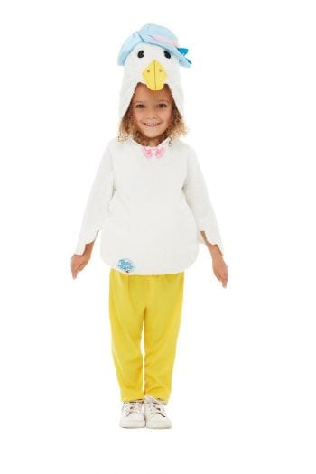 Peter Rabbit Deluxe Jemima Puddle-Duck Children's Fancy Dress Costume