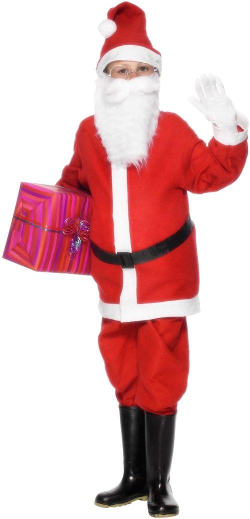 Santa Budget Children's Christmas Fancy Dress Costume